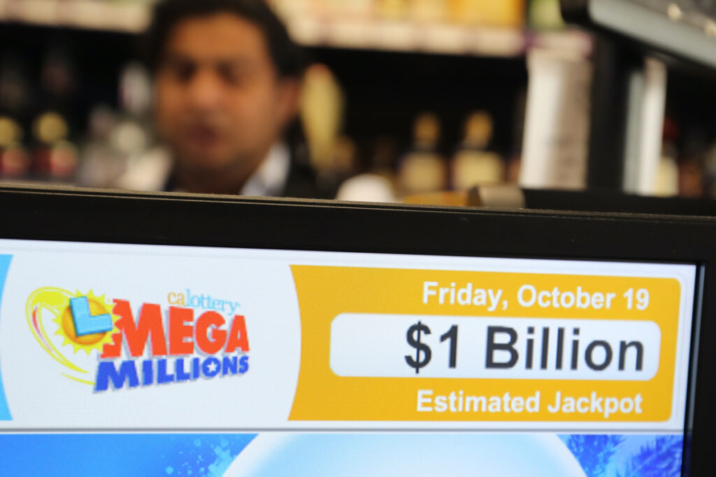 The Mega Millions offers enormous jackpots for lottery tickets.