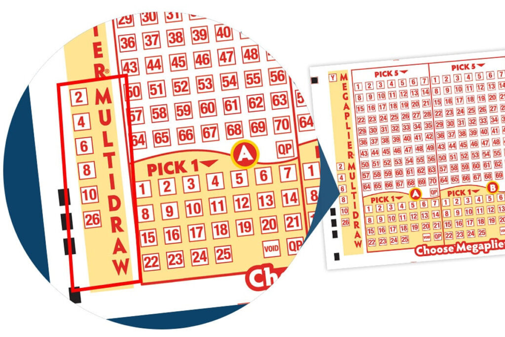 A megaplier is a number to multiple your prize money if you are selected as a winner already.