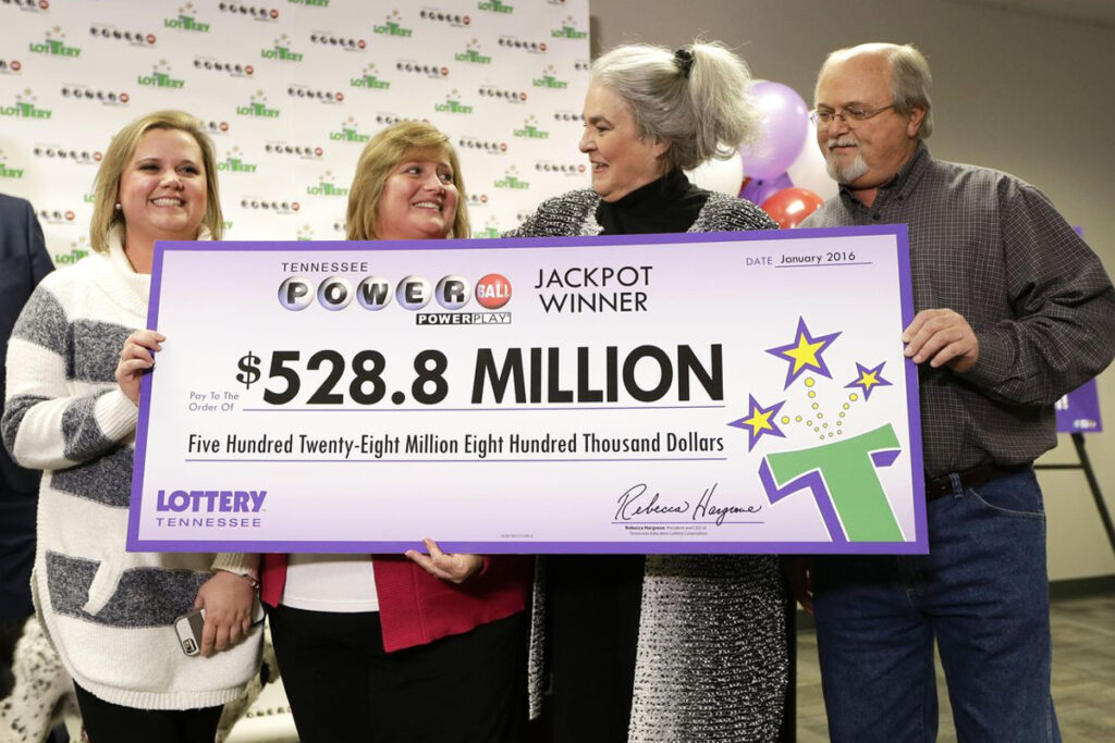 The science behind why so many people play the lottery, even though only a small fraction of people ever win (like those pictured here).